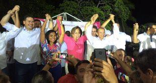 Evento teve pouca representatividade de outros partidos (Foto: Saulo Spinely).