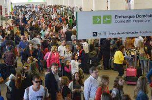 Novas normas de segurança exigiram dos passageiros paciência para embarcar hoje em vários aeroportos brasileirosJosé Cruz/Agência Brasil