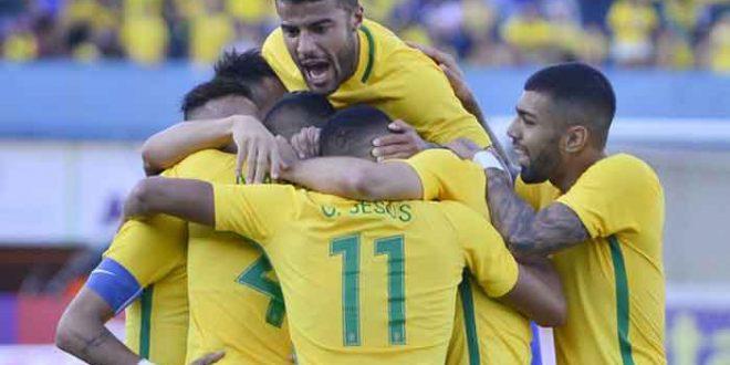 Antes da Olimpíada, Seleção Brasileira vence Japão em amistoso de futebol