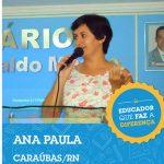 """Professora de Caraúbas é reconhecida nacionalmente como """"Educador Que Faz a Diferença"""""""