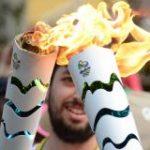 Chama olímpica chega ao estado do Rio de Janeiro após percorrer o país