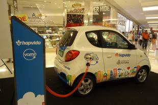Em agosto, serão instaladas cinco estações e sete carros estarão disponíveis na cidade (Foto: Edwirges Nogueira/Agência Brasil).
