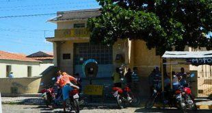 Três homens armados assaltaram uma agência dos Correios na manhã desta sexta-feira (Foto: Blog PM Jucurutu).
