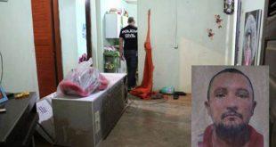 Criminosos reviraram a casa da vítima (Foto: O Câmera).