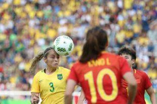 Brasil estreia com vitória contra a China, no Engenhão, na Rio 2016 Roberto Castro/Brasil2016