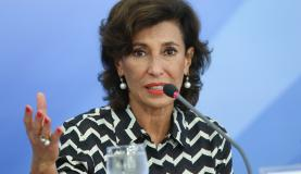 A presidente do BNDES, Maria Silvia Bastos Marques, anunciou linhas de crédito (Foto: Elza Fiúza/Agência Brasil).