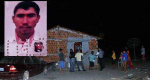 Cleudinilde Cunha de Brito, de 28 anos, foi executado com tiros de pistolas 380, ponto 40 e de escopeta calibre 12 (Foto: Fim da Linha).
