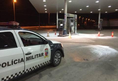 Chamas foram controladas por funcionários após a saída dos bandidos. (Foto: Passando na Hora).