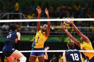 Bloqueio forte e bons saques fizeram a diferença em favor as brasileiras. (Foto: veja.abril.com).