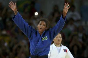 Rafaela já vinha de uma sequência com quatro vitórias no Rio 2016. (Foto: Reuters/Toru Hanai).