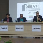 Debate acirra ânimos entre candidatos a prefeito de Pau dos Ferros