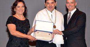 Universidade celebra 48 anos e concedeu o título de Doutor Honoris Causa a Jerônimo Vingt Rosado Maia (in Memoriam) - Foto: Luciano Lellys.