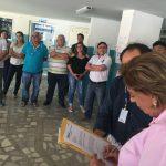 Rosalba assina Carta Compromisso contra a privatização da CAERN