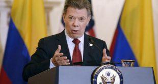 Juan Manuel Santos, presidente da Colômbia, recebe o Prêmio Nobel da Paz (Foto: EPA/Olivier Douliery/Arquivo Agência Lusa).