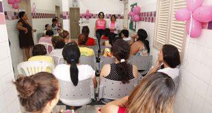 A ação tem por objetivo oferecer às mulheres exames e palestras sobre prevenção e combate ao câncer (Foto: Divulgação PMM).