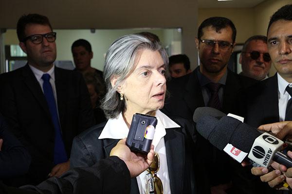 O motivo da visita da ministra não foi divulgado pelo STF e nem pelo CNJ (Foto: Luciano Lellys).