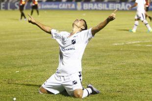 Gol da vitória de sexta-feira foi do prata da casa Erivélton. (Foto: abcfc.com.br).