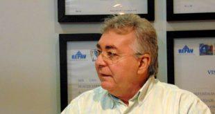 Marcos Fernandes reassumindo presidência depois de dez anos. (Foto: Marcelo Diaz/ACDP).