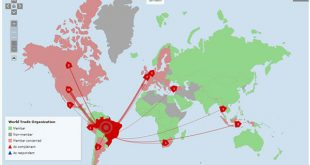 O país alega que as medidas norte-americanas sobre as importações de aço ferem acordo da OMC.