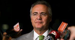 A medida foi tomada após a decisão proferida pela Corte na semana passada, que tornou Renan Calheiros réu pelo crime de peculato (Foto: Marcelo Camargo/Agência Brasil).