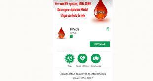 O aplicativo conta com informações sobre HIV e AIDS, bem como mapa para localização de testes de HIV gratuitos.