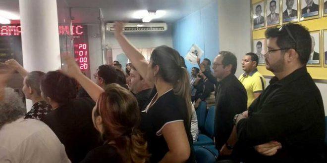 Em pronunciamento conjunto, assessores questionam capacidade administrativa de Jório Nogueira.
