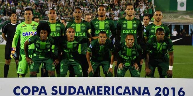 Chapecoense é declarada campeã sul-americana 2016