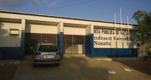 Detentos serraram grades e fugiram pelo solário  da Cadeia Pública de Natal (Foto: Sejuc).