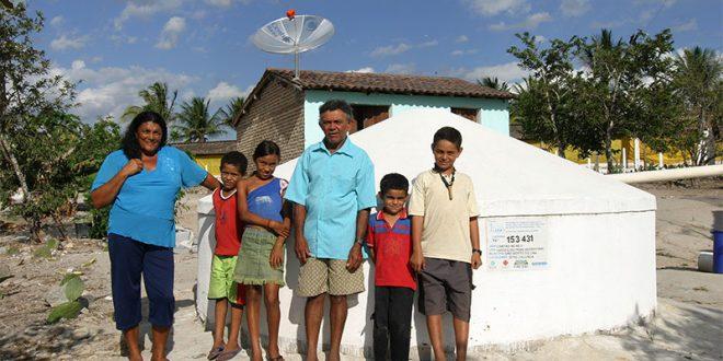 Recurso de R$ 17 milhões permitirá acesso à água potável a cerca de 14,3 mil pessoas em nove estados brasileiros (Foto: Divulgação ASA).