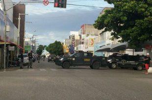 PMs foram presos em julho, acusados de integrar grupo de extermínio na cidade de Mossoró (Foto: Hermes Castro).