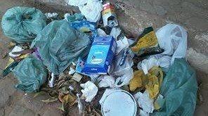 Interrupção da coleta gerou acúmulo de dejetos em vários pontos da cidade