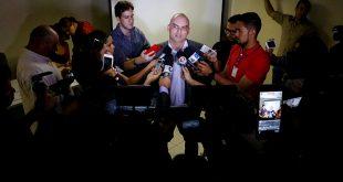 Andamento da operação de controle do presídio de Alcaçuz foi apresentado em entrevista coletiva Foto: Demis Rousso