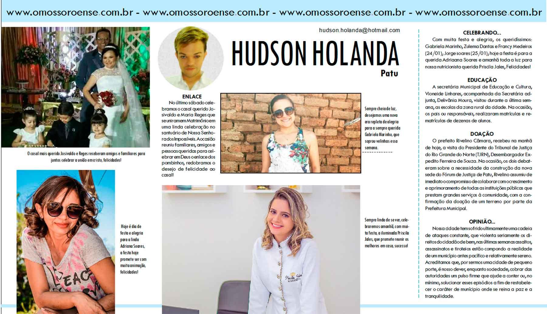HUDSON-HOLANDA