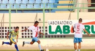 Alvirrubro derrota Horizonte por 3 a 1 em partida no Domingão. (Foto: Marcelo Diaz/Assessora de Comunicação ACDP).