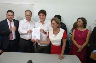 Ministro também anunciou a liberação de R$ 16 milhões para a Saúde do RN (Foto: Ana Paula Cardoso).