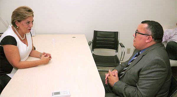 O secretário municipal de Saúde, Benjamim Bento, explicou que a retomada do transporte era uma prioridade em razão do risco de morte dos pacientes (Foto: Divulgação PMM).
