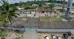 Rebelião no Complexo Penitenciário Anísio Jobim começou na tarde do domingo (Foto: Divulgação Seap).