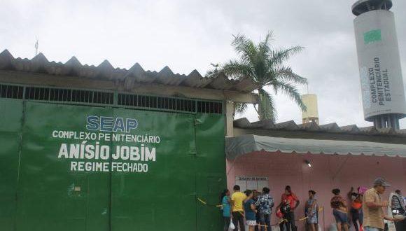 Complexo Penitenciário Anísio Jobim (Foto: Divulgação/Secretaria de Administração Penitenciária do Amazonas).