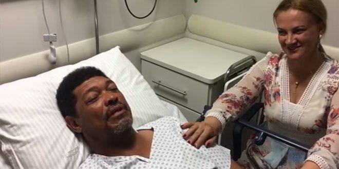 Apóstolo Valdemiro Santiago postou um vídeo nas redes sociais contando o que aconteceu (Foto: Reprodução).