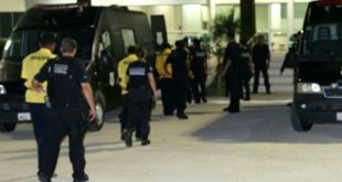 A operação de transferência dos presos foi concluída na madrugada desta sexta-feira, 13 (Foto: Divulgação).