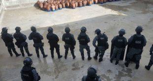 Unidade já não possui grades, arrancadas pelos detentos em rebelião anterior (Foto: Divulgação/Sindasp).