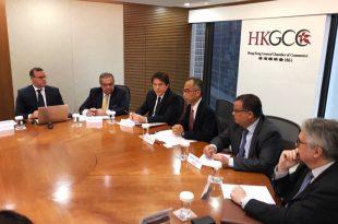 Reunião foi mantida com empresários e investidores em Hong Kong