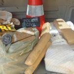 PRF e Polícia Civil apreendem mais de 50 kg de maconha em Assú