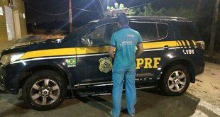 Fugitivo foi condenado por assassinar um bombeiro militar no ano de 2007 (Foto: Divulgação PRF).