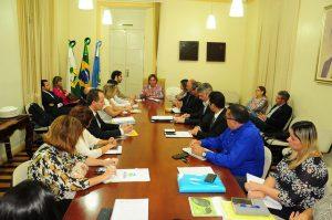Rosalba reunião secretários