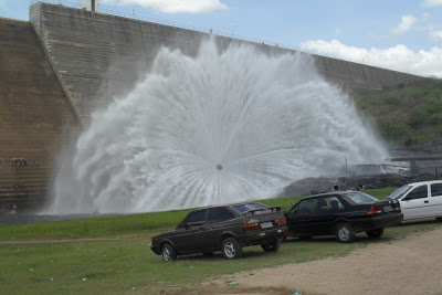 Barragem de Santa Cruz aumenta reserva em 25 milhões de metros cúbicos d'água
