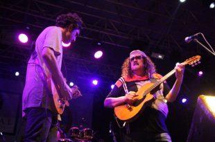Show de Morais Moreira e Davi Morais abriu programação no polo Ponta Negra - Foto Joana Lima (5)