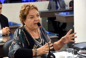 Vereadora Sandra Rosado argumenta em sessão no plenário da Câmara Municipal - foto Edilberto Barros