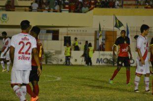 Equipe mossoroense não teve poder de reação Foto: Luciano Lellys