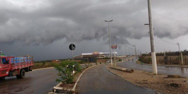 Reta final de março contará com fortes precipitações